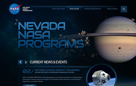 mobile nevada nasa programs