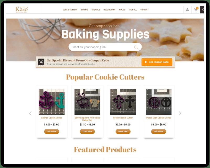 Kato Baking Supplies After