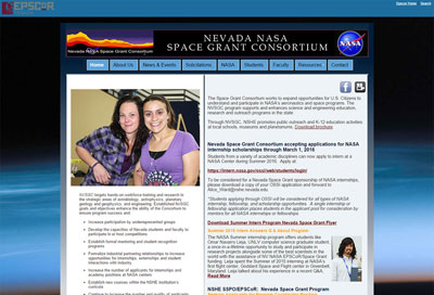 nevada nasa before