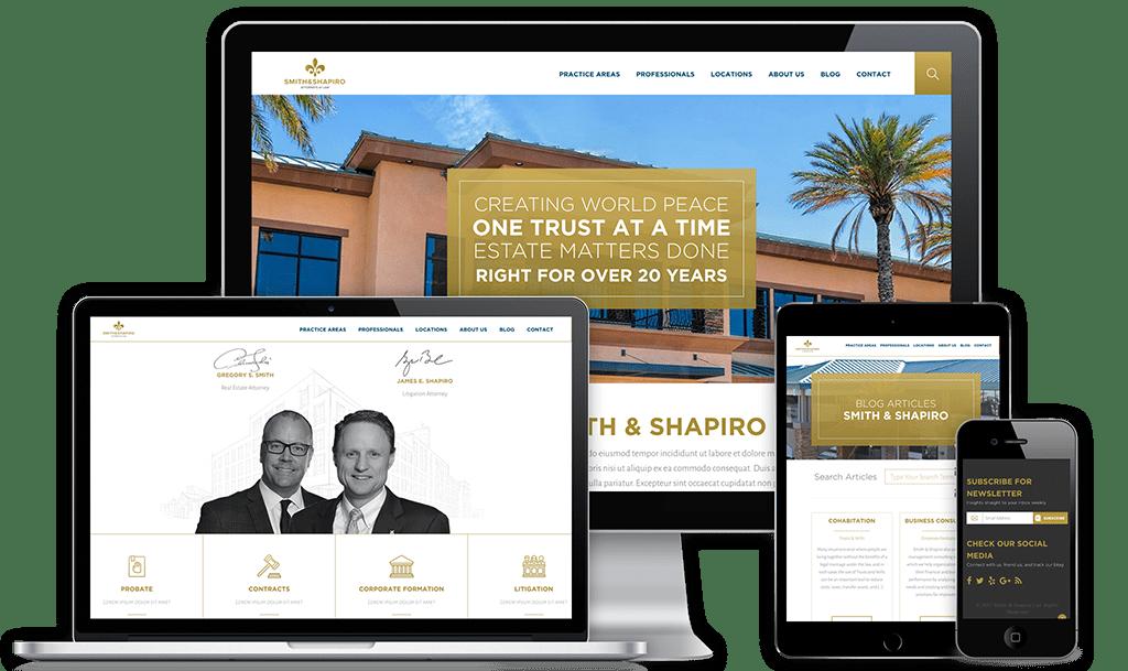 Smith & Shapiro Web Design Project