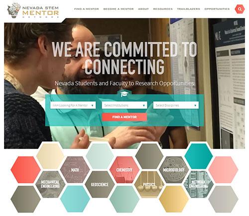 web design trend - geometric