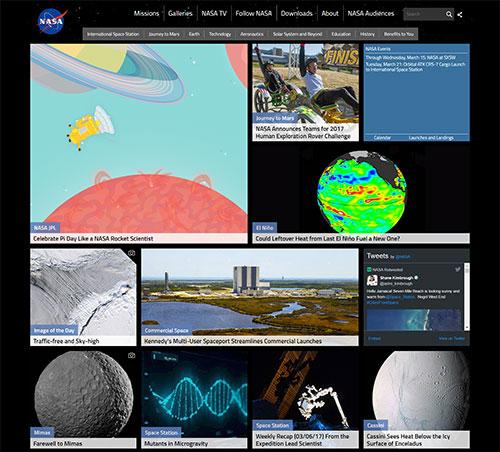 web design trend - grid layout