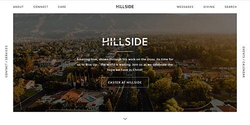 web design trend - unique navigation