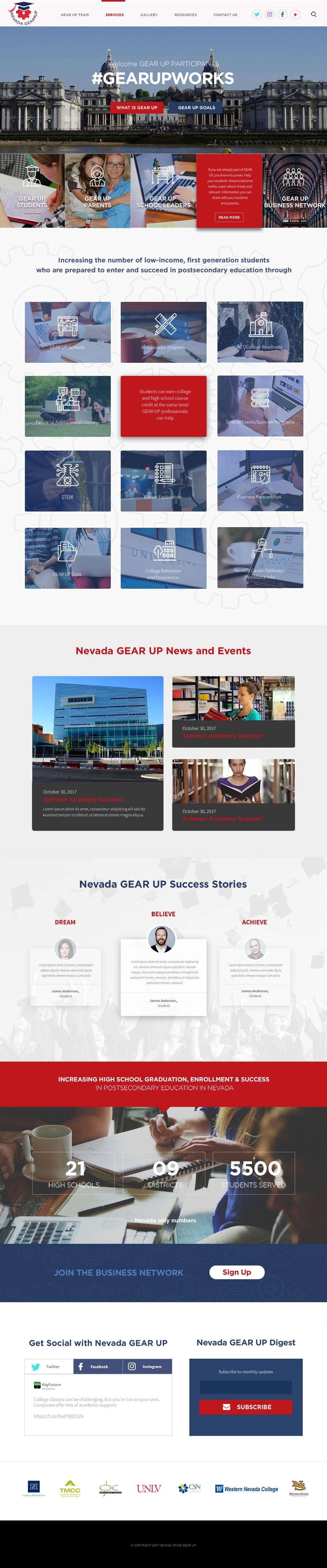 Nevada GEAR UP
